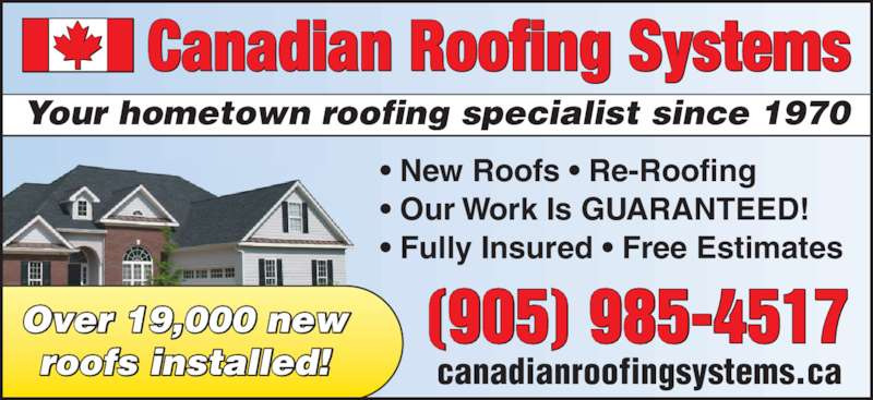 Canadian Roofing Systems - Ads  sc 1 st  Canpages & Canadian Roofing Systems | Canpages memphite.com