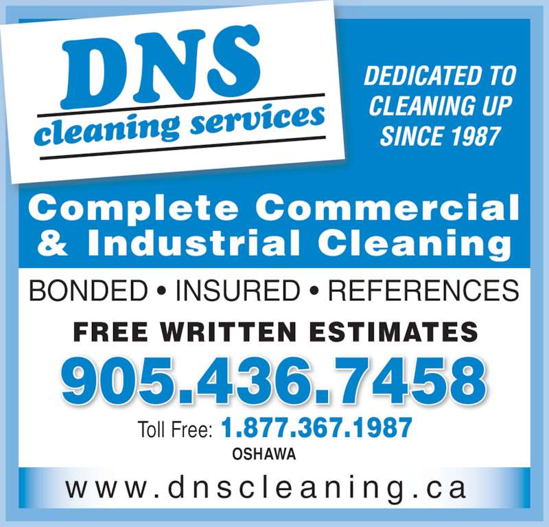 cleaning service ad