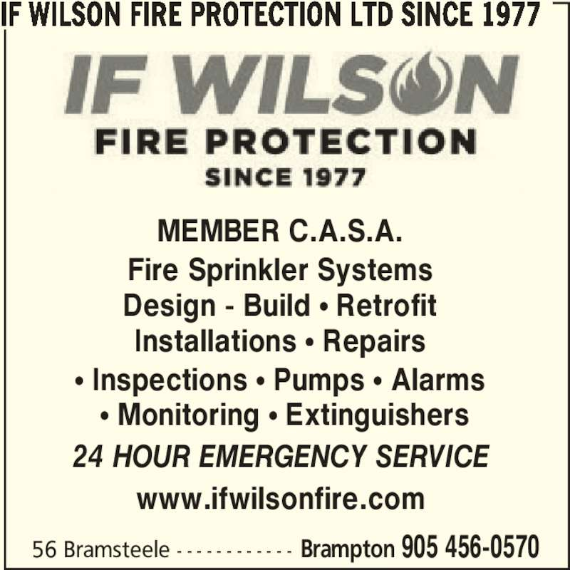 ad Wilson Fire Protection Ltd