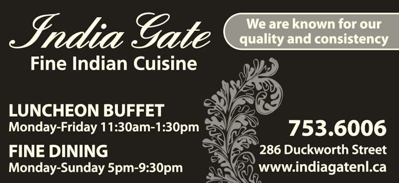 India Gate Restaurant (7097536006) - Display Ad -