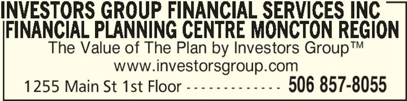 Investors group financial services inc moncton nb for 100 mural street richmond hill