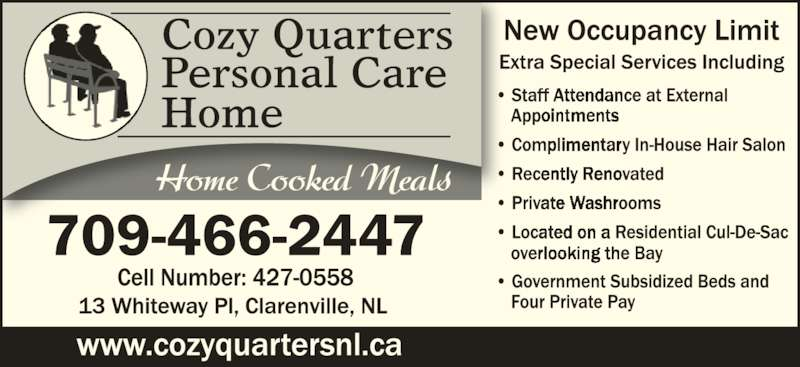 Cozy Quarters Personal Care Home Clarenville Nl 13