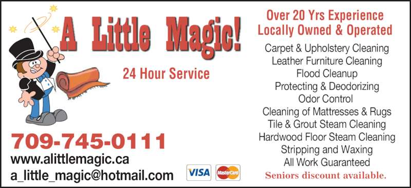 A Little Magic Mount Pearl NL 899 Topsail Rd Canpages
