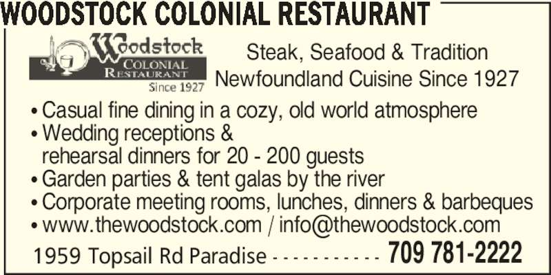 Woodstock Colonial Restaurant