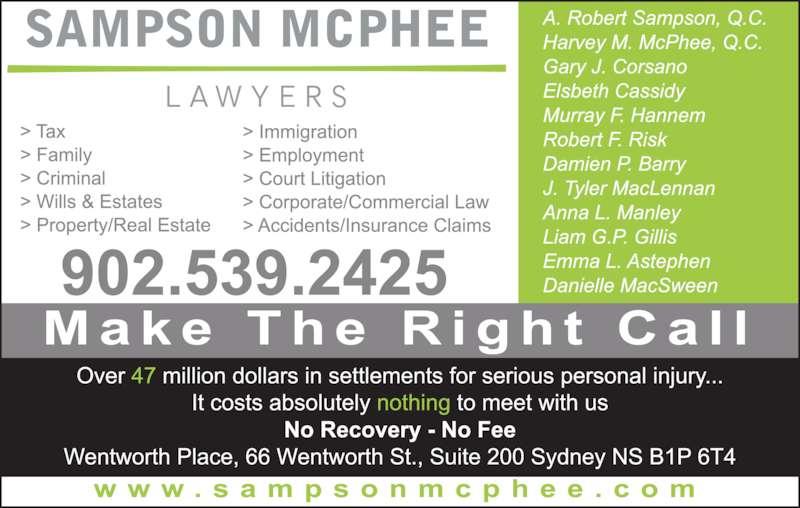 Sampson McPhee (9025392425) - Display Ad -
