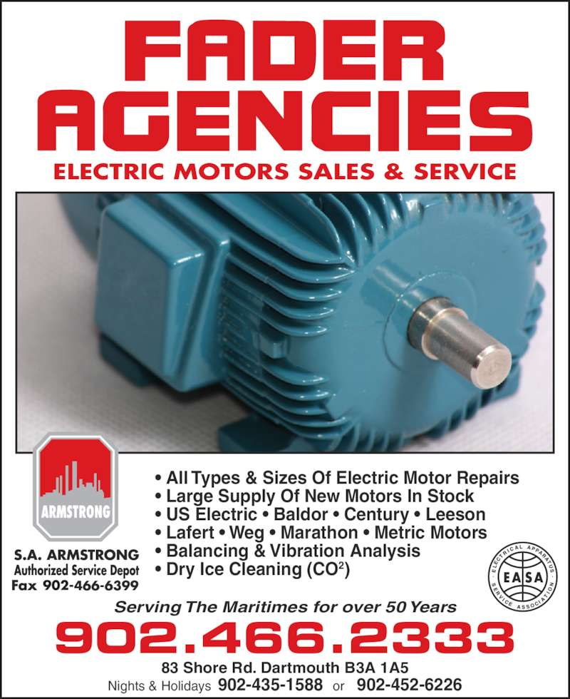Fader Agencies Opening Hours 83 Shore Rd Dartmouth Ns
