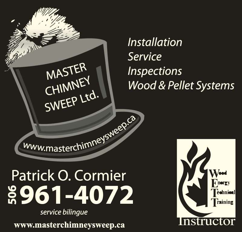 Master Chimney Sweep Elgin Nb 3182 Rte 895 Canpages