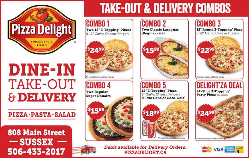 Pizza Delight (5064332017) - Annonce illustrée======= -