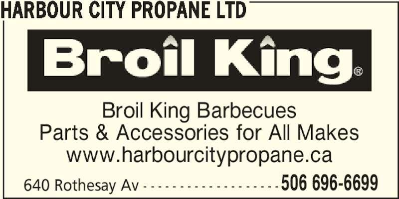Harbour City Propane Ltd (506-696-6699) - Annonce illustrée======= -