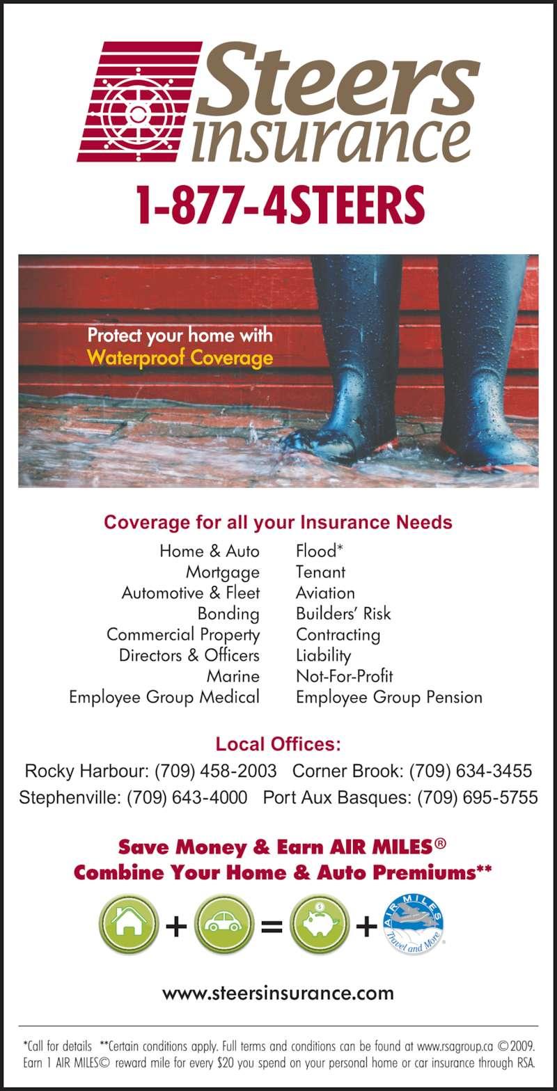 Steers Insurance Limited - Corner Brook, NL - 2 Main St ...