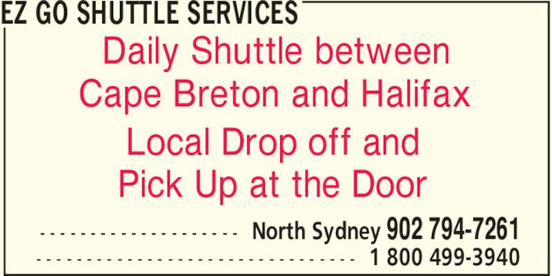 Ads EZ Go Shuttle Services