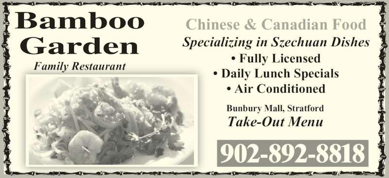 Bamboo Garden Restaurant (9028928818) - Display Ad -
