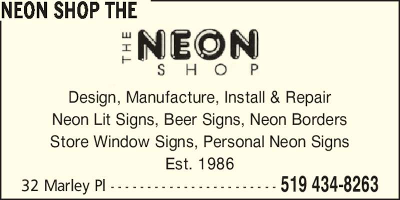 ad Neon Shop, The