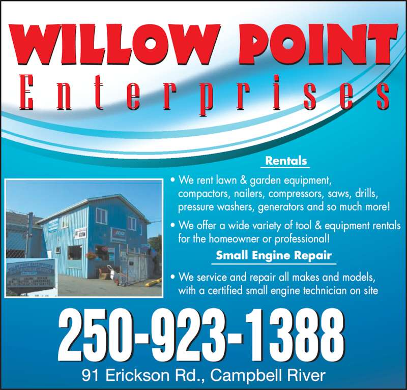 Willow Point Enterprises Campbell River Bc 91