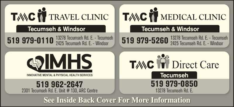 Ads Tecumseh Community Health Care Centre