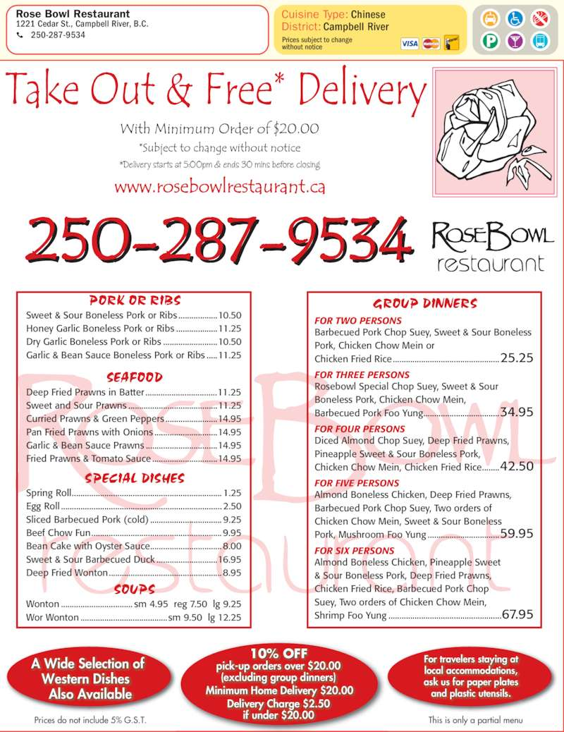 Food Delivery Campbell River Bc