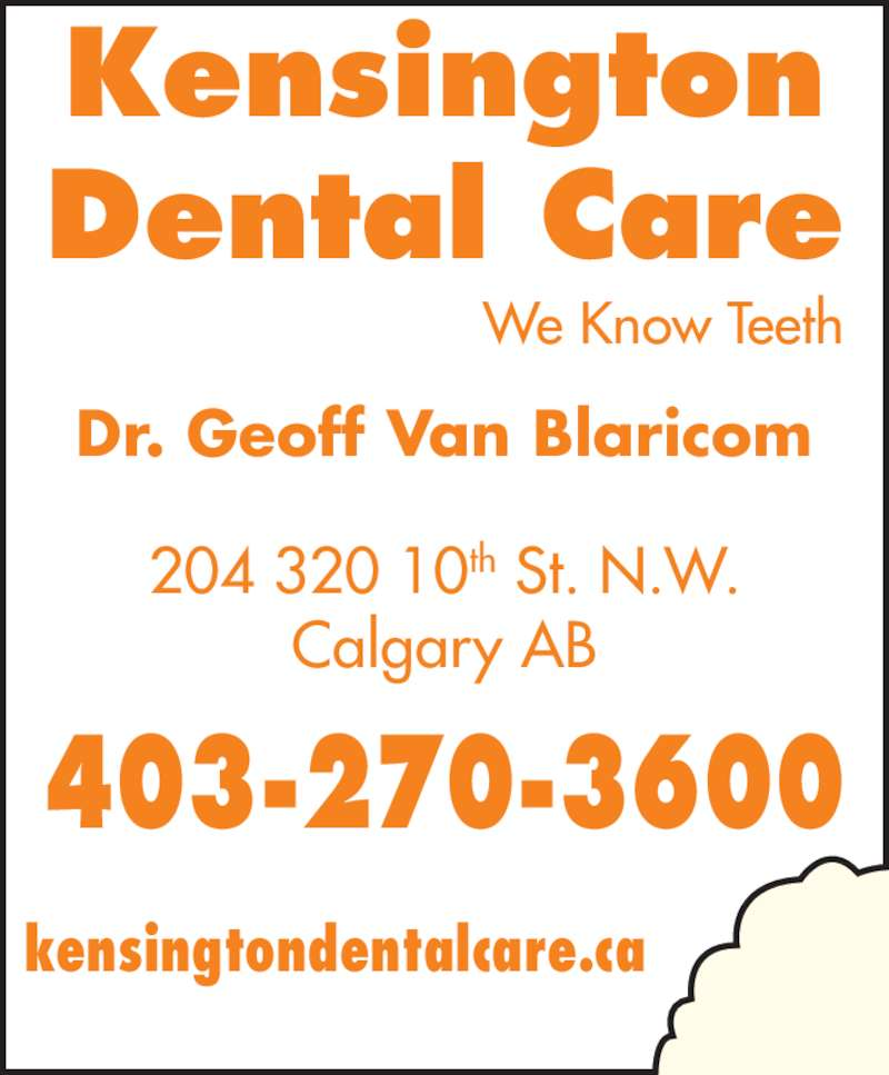 ad Kensington Dental Care