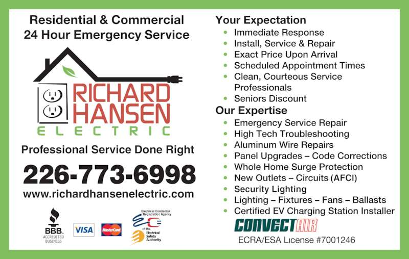 hansen lighting services. richard hansen electric - ads lighting services y