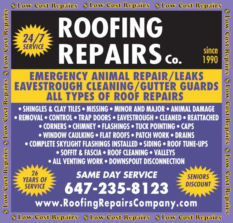 Ads Roofing Repairs