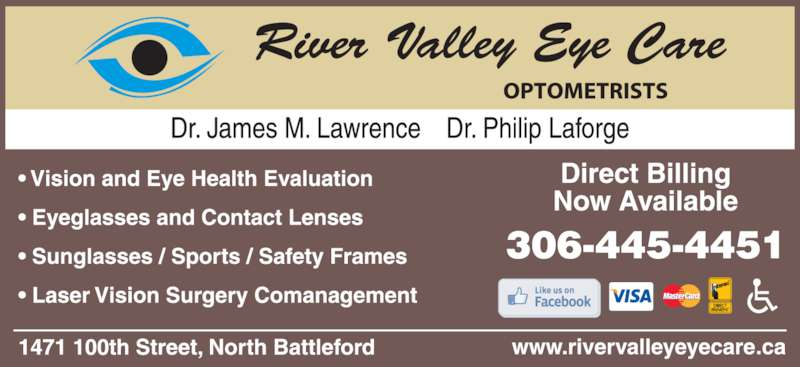 River Valley Eye Care (3064454451) - Display Ad -