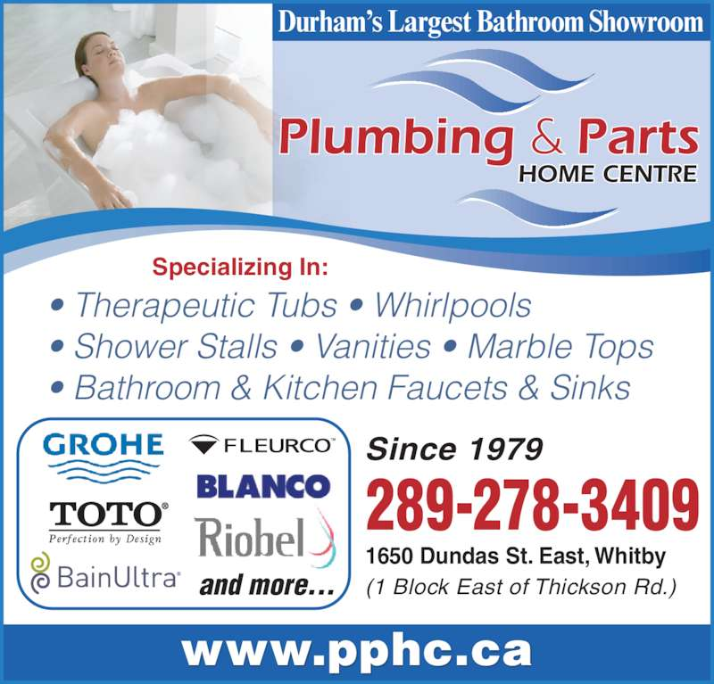 Plumbing Amp Parts Home Centre Whitby On 1650 Dundas St