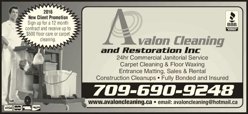 Avalon Cleaning And Restoration Inc St John S Nl 354