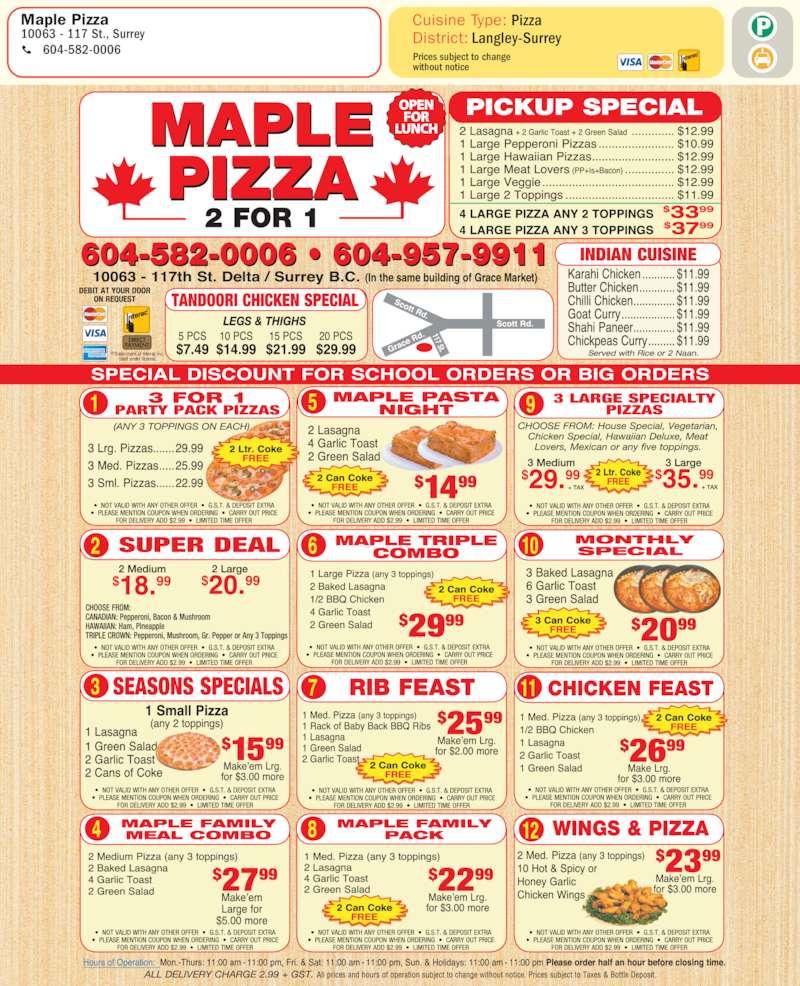 Toronto Food Delivery Cash