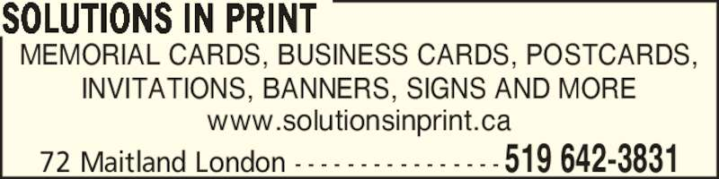 ad Solutions In Print