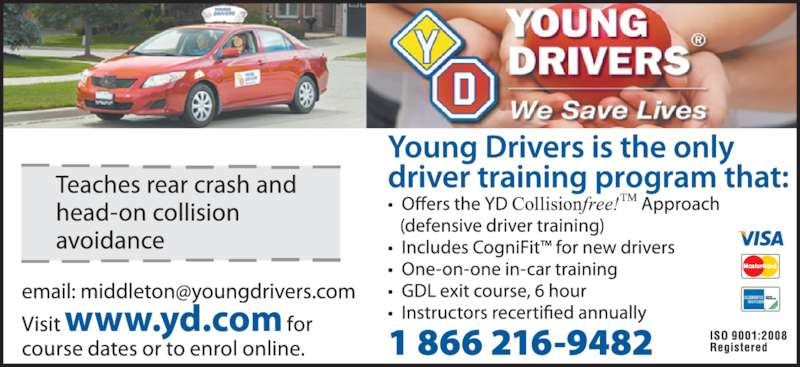 Young Drivers (902-681-9362) - Display Ad -