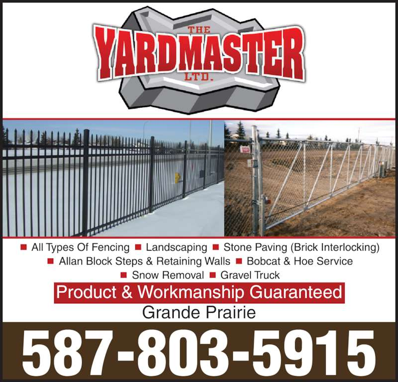 Yardmaster Ltd The Grande Prairie Ab 1a 721072 Rge