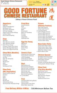 Gluten Free Chinese Food Delivery Scarborough