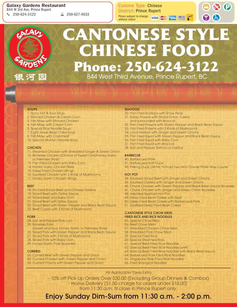 Chinese Food Home Delivery Mississauga