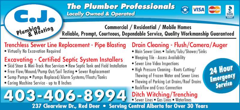 C J Plumbing Amp Heating Opening Hours 237 Clearview Dr