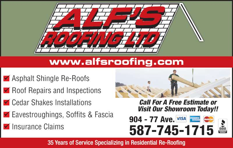 ad Alf's Roofing Ltd