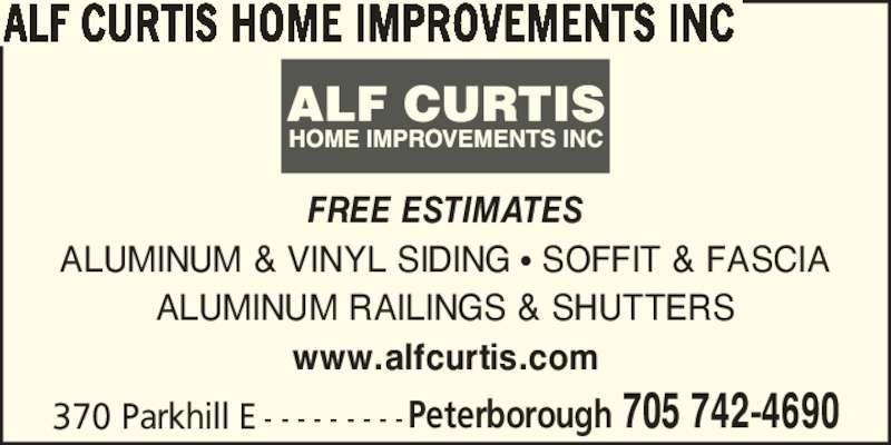 Alf Curtis Home Improvements Inc Peterborough On 370