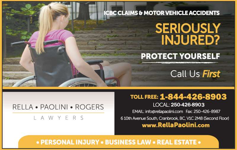 Rella, Paolini & Rogers (250-426-8981) - Display Ad - 1-844-426-8903