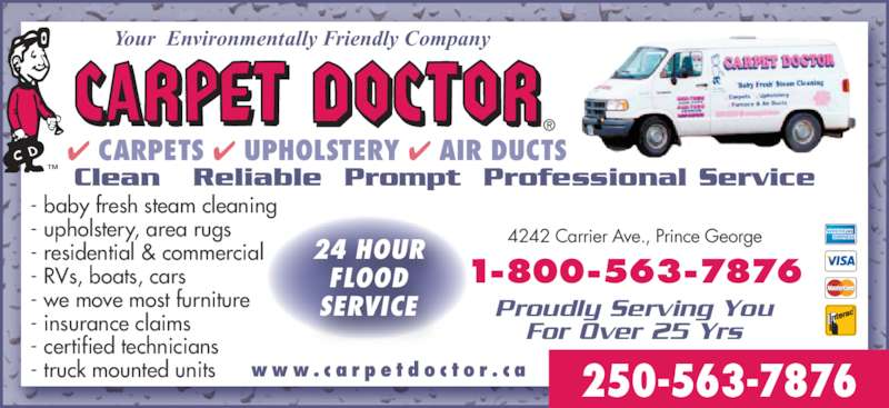 Carpet Doctor Power Vac Services Prince George Bc