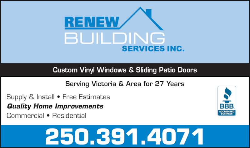 Renew building services inc victoria bc 3059 glen for 24 hour tanning salon near me