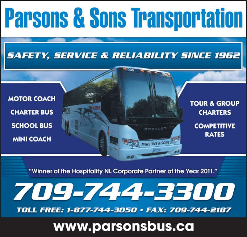 Parsons Sons Transportation Opening Hours 1440