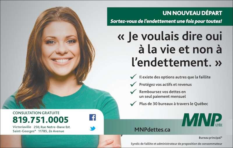 MNP Ltée (819-751-0005) - Annonce illustrée======= -