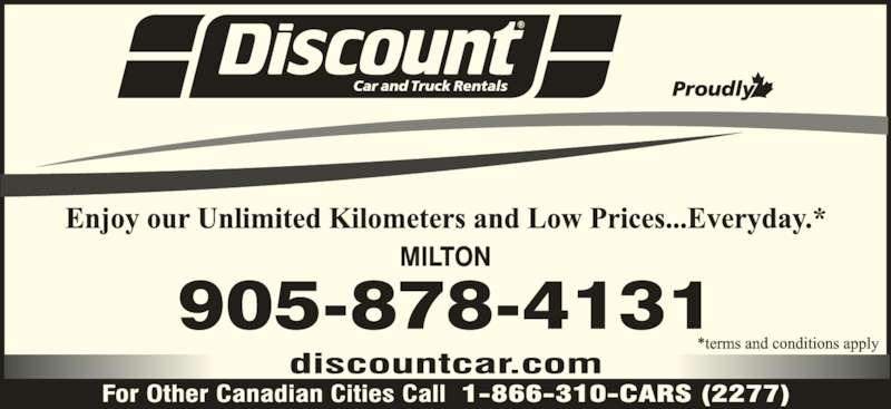 Discount Car And Truck Rental London Ontario