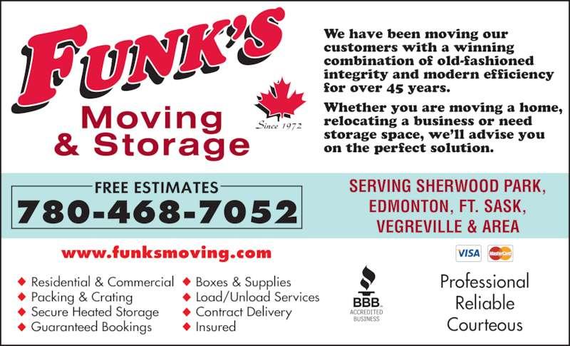 ad Funk's Moving & Storage