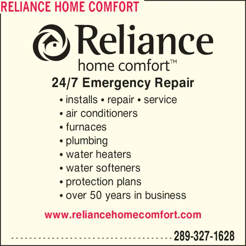 reliance home comfort 2 3425 laird rd mississauga on