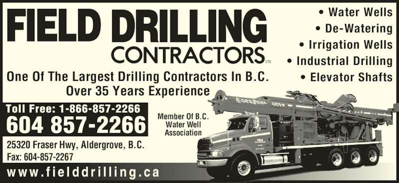 ad Field Drilling Contractors Ltd