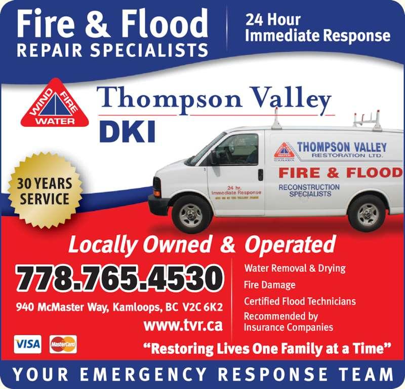 Thompson Valley Restoration DKI (2503721335) - Display Ad - 778.765.4530