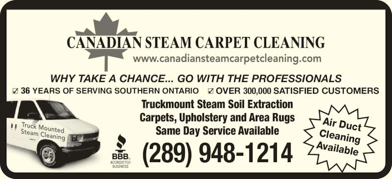 Canadian Steam Carpet Cleaning North York ON 40