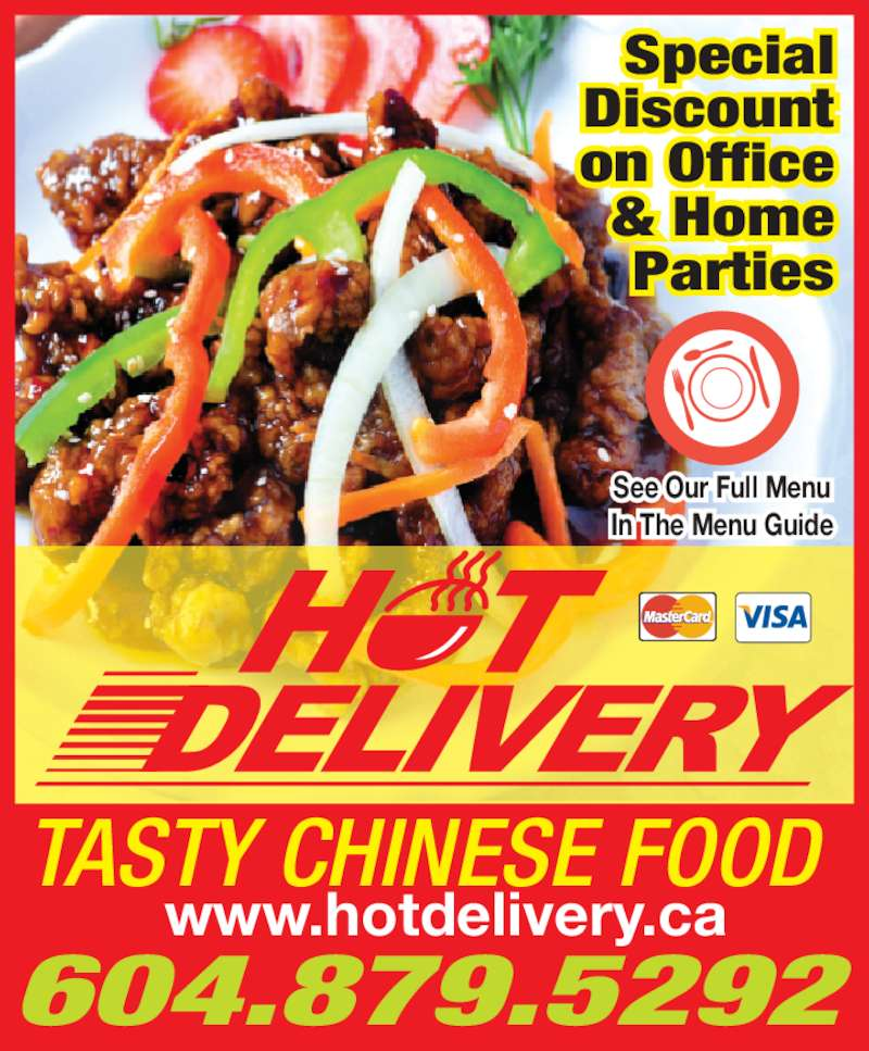 Chinese Food Delivery Vancouver West Side