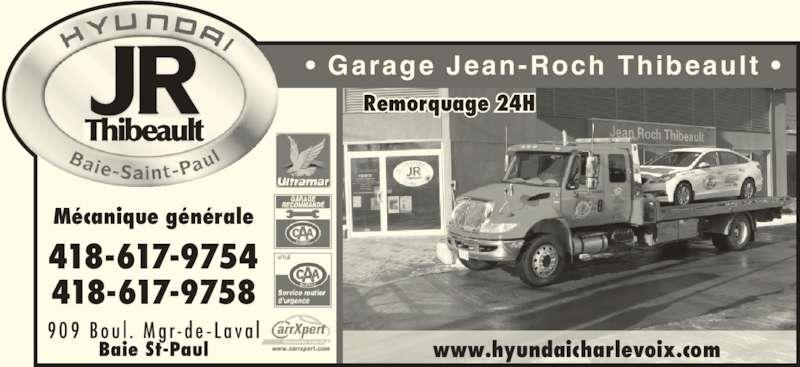 Garage hyundai jean rock thibeault baie saint paul qc for Garage hyundai saint fons