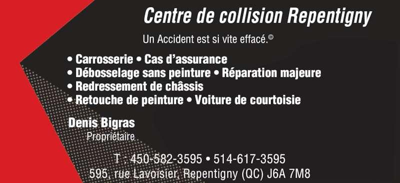 centre de collision carrosserie rive nord horaire d 39 ouverture 595 rue lavoisier. Black Bedroom Furniture Sets. Home Design Ideas