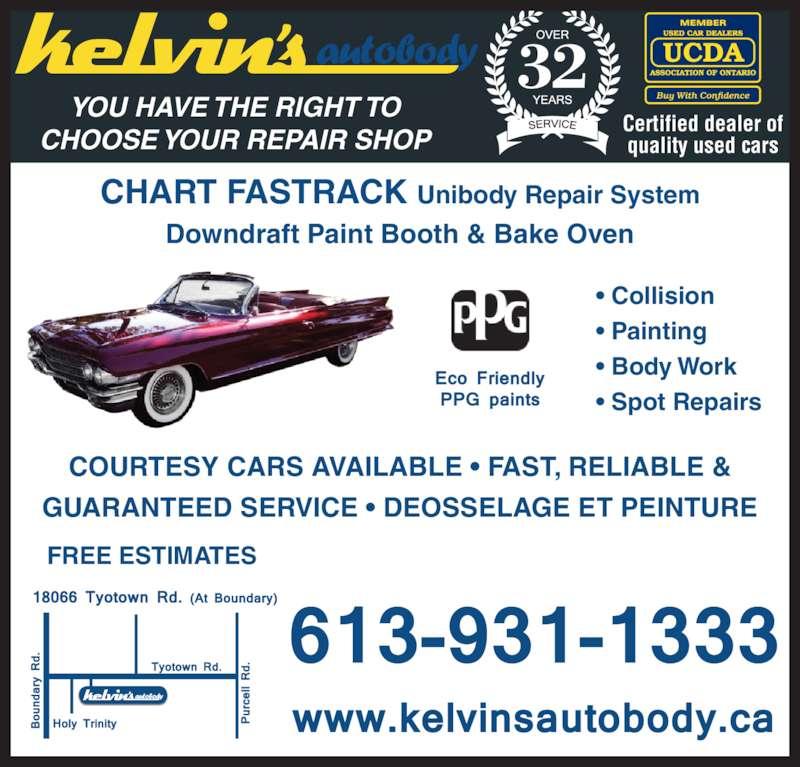 Kelvin's Auto Body